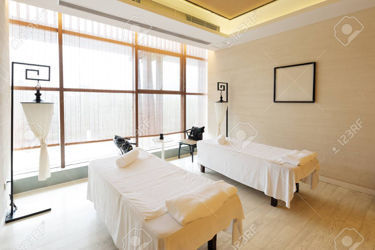 decoration of modern massage room stock photo picture and royalty rh 123rf com massage room decorating feng shui massage room decorating tips
