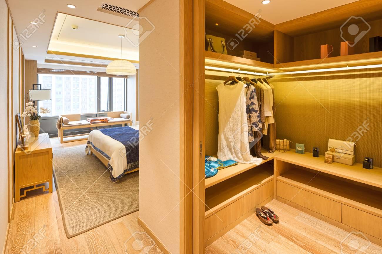 Décoration Et Design De Chambre à Coucher Moderne Avec Garde Robe