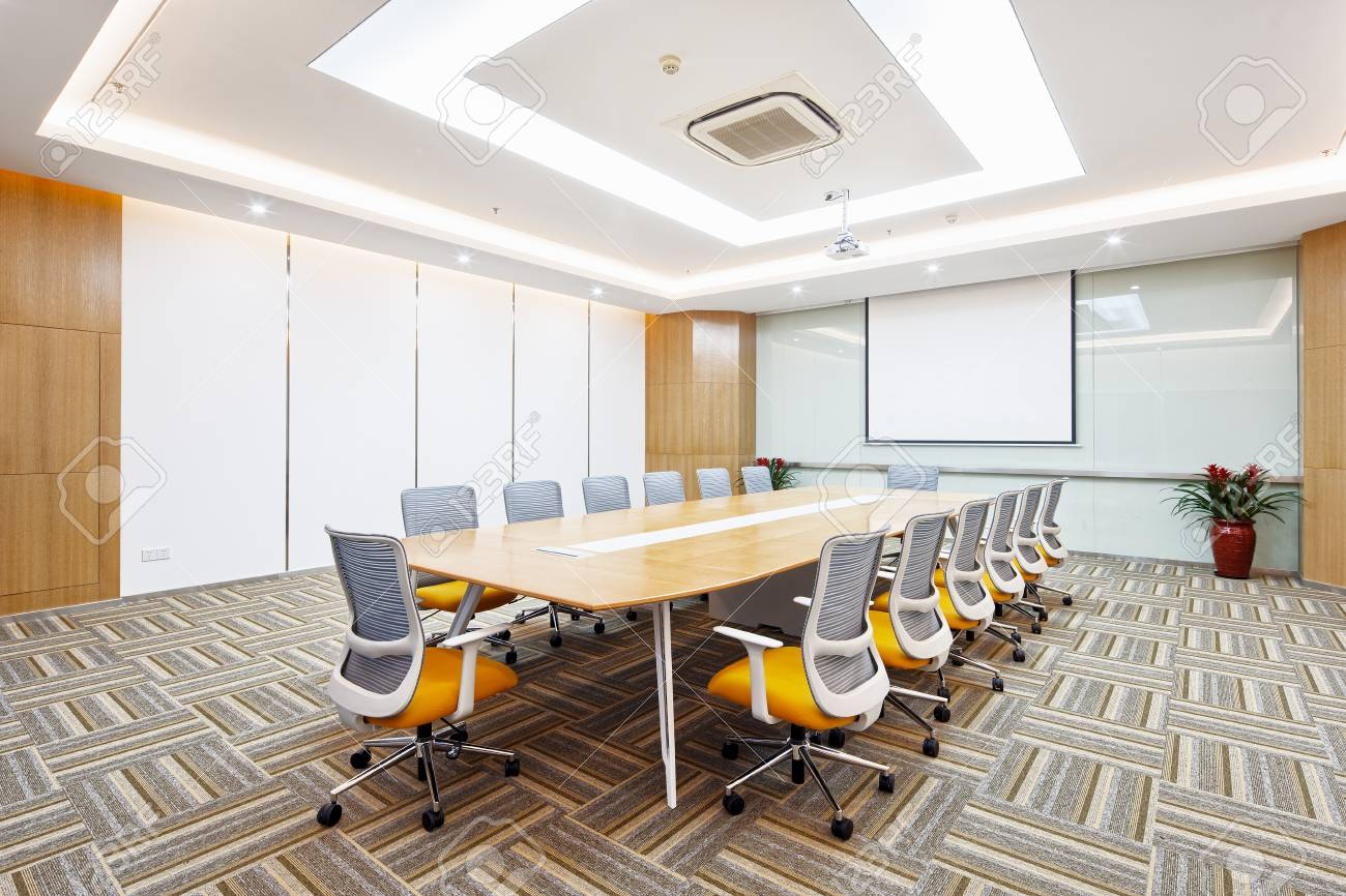 Decoration And Design Of Modern Meeting Room In Modern Company Stock Photo Picture And Royalty Free Image Image 93494658