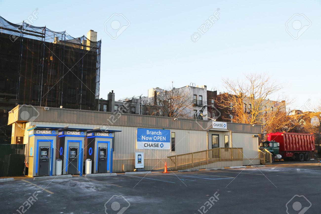 brooklyn new york march 9 jp morgan chase bank branch temporary