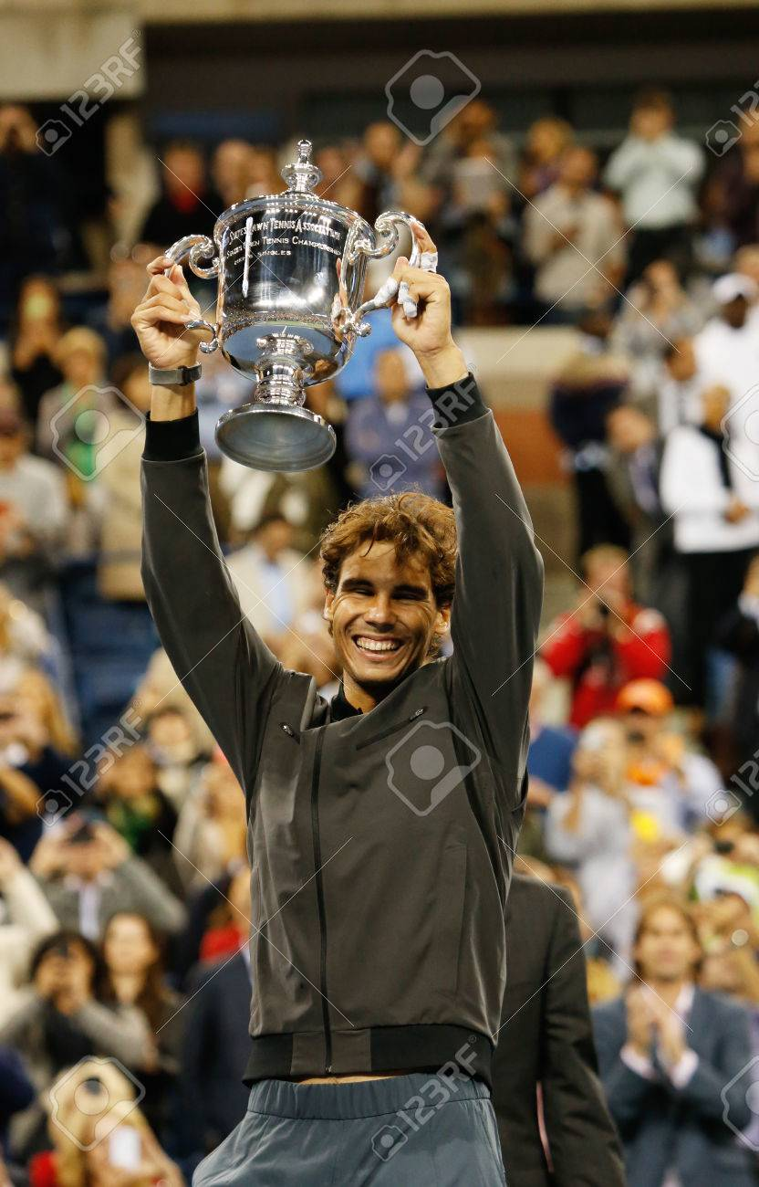 Flushing Ny September 9 Us Open 2013 Champion Rafael Nadal Stock Photo Picture And Royalty Free Image Image 22193998