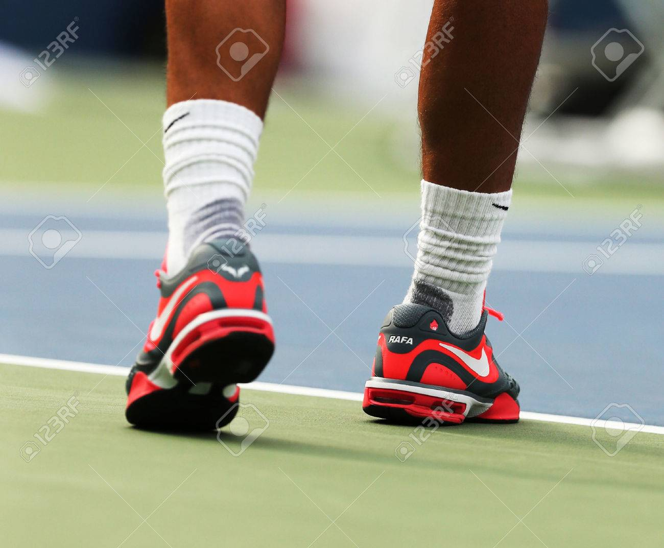 Flushing Ny August 28 Twelve Times Grand Slam Champion Rafael Stock Photo Picture And Royalty Free Image Image 24010210