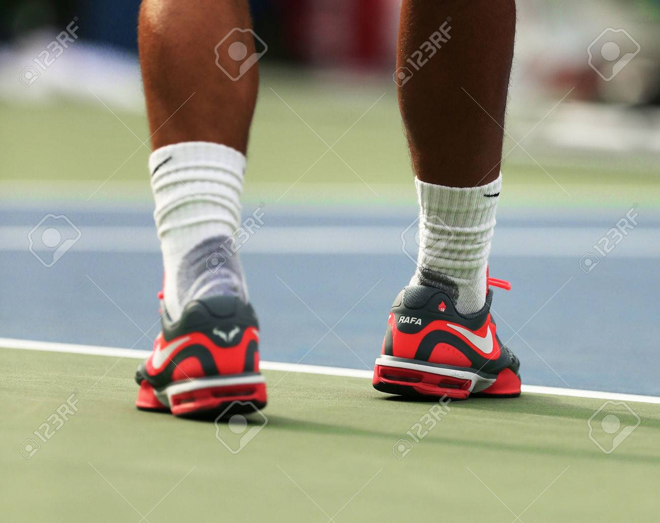 New York August 27 Twelve Times Grand Slam Champion Rafael Stock Photo Picture And Royalty Free Image Image 25119903