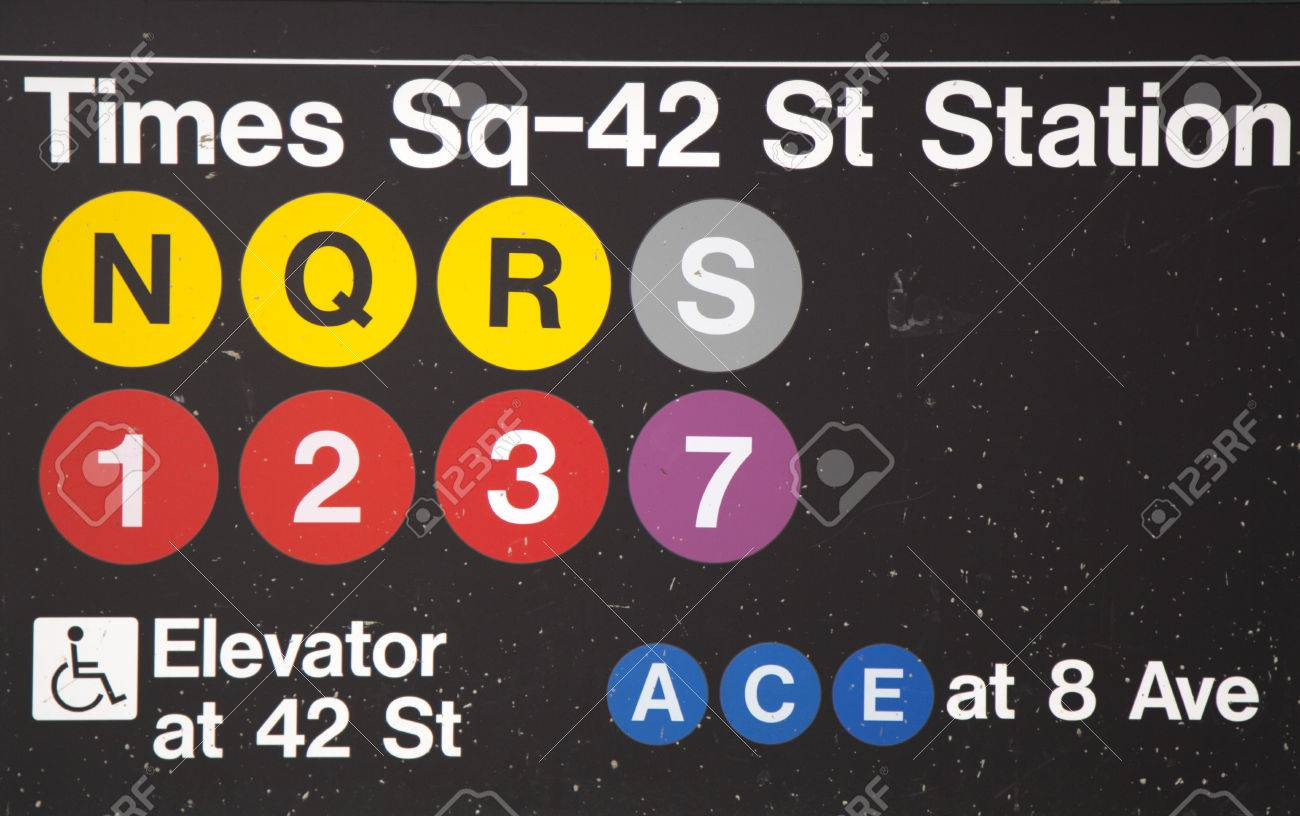 Wayfinder symbols lessons tes teach new york city january26 times square 42 st subway station biocorpaavc Gallery