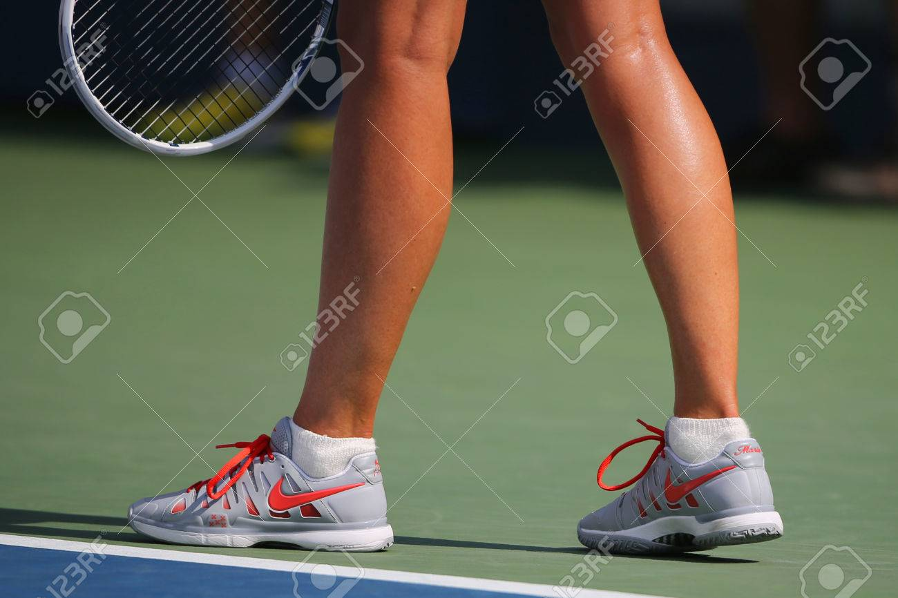 automa pausa luogo  NEW YORK - AUGUST 31 Five Times Grand Slam Champion Mariya Sharapova..  Stock Photo, Picture And Royalty Free Image. Image 32796198.