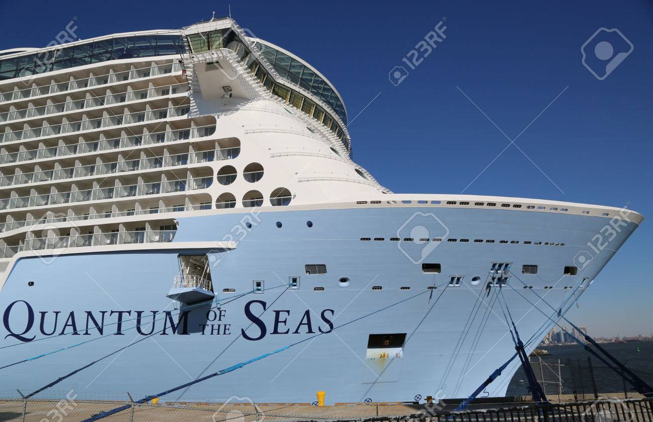 BAYONNE NEW JERSEY NOVEMBER Newest Royal Caribbean Cruise - Cruise ships from new jersey