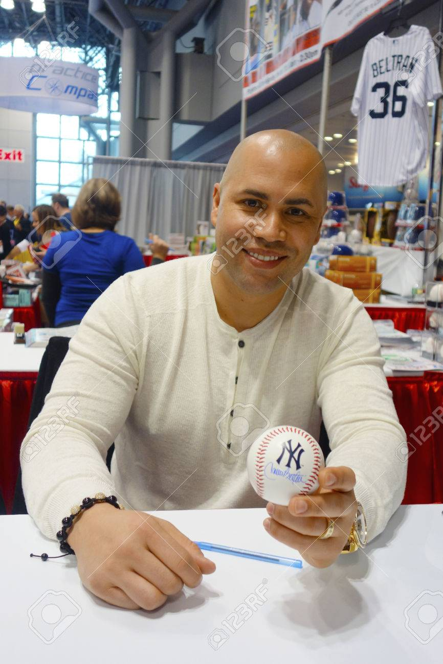 New York City November 30 New York Yankees Player Carlos Beltran