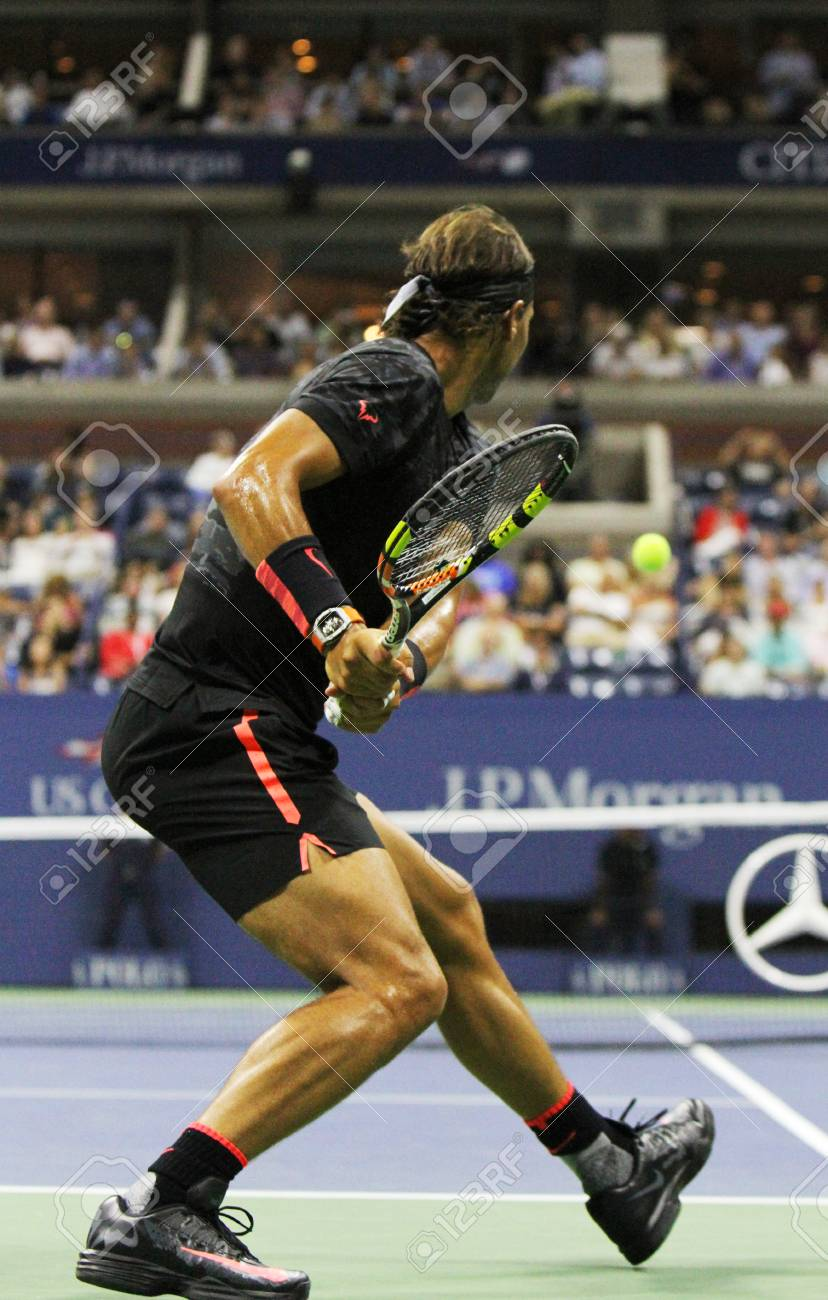 New York September 4 2015 Fourteen Times Grand Slam Champion Stock Photo Picture And Royalty Free Image Image 45640953