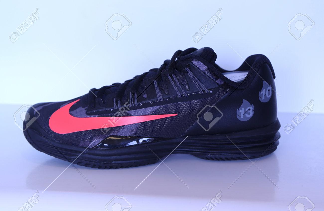 new styles 578d1 b41ea NEW YORK - SEPTEMBER 6, 2015  Nike presented new tennis shoes NikeCourt Lunar  Ballistec