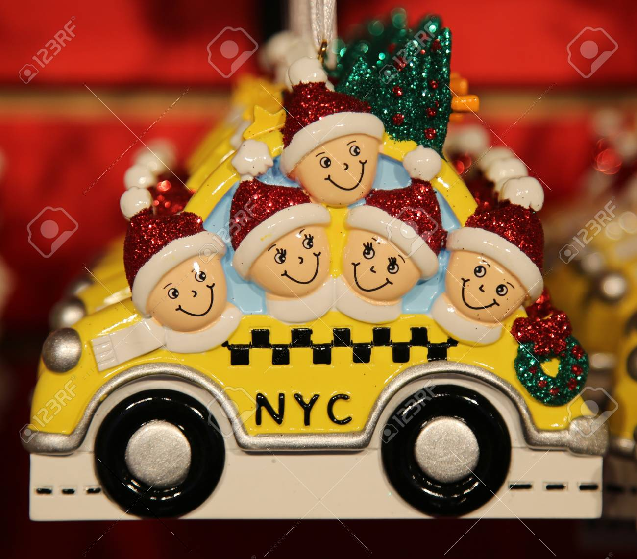 NEW YORK - DECEMBER 13, 2015: New York City Themed Christmas.. Stock ...