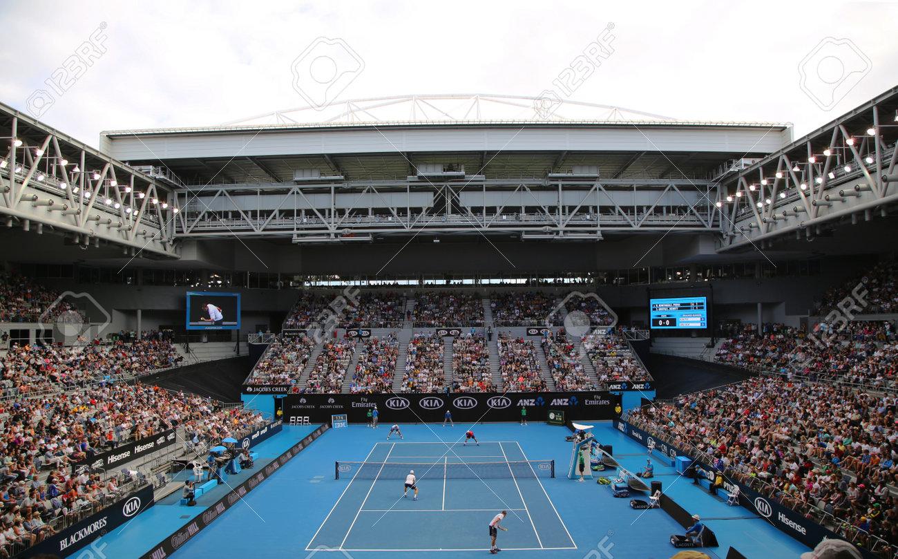 Melbourne Australia January 23 2016 Rod Laver Arena During