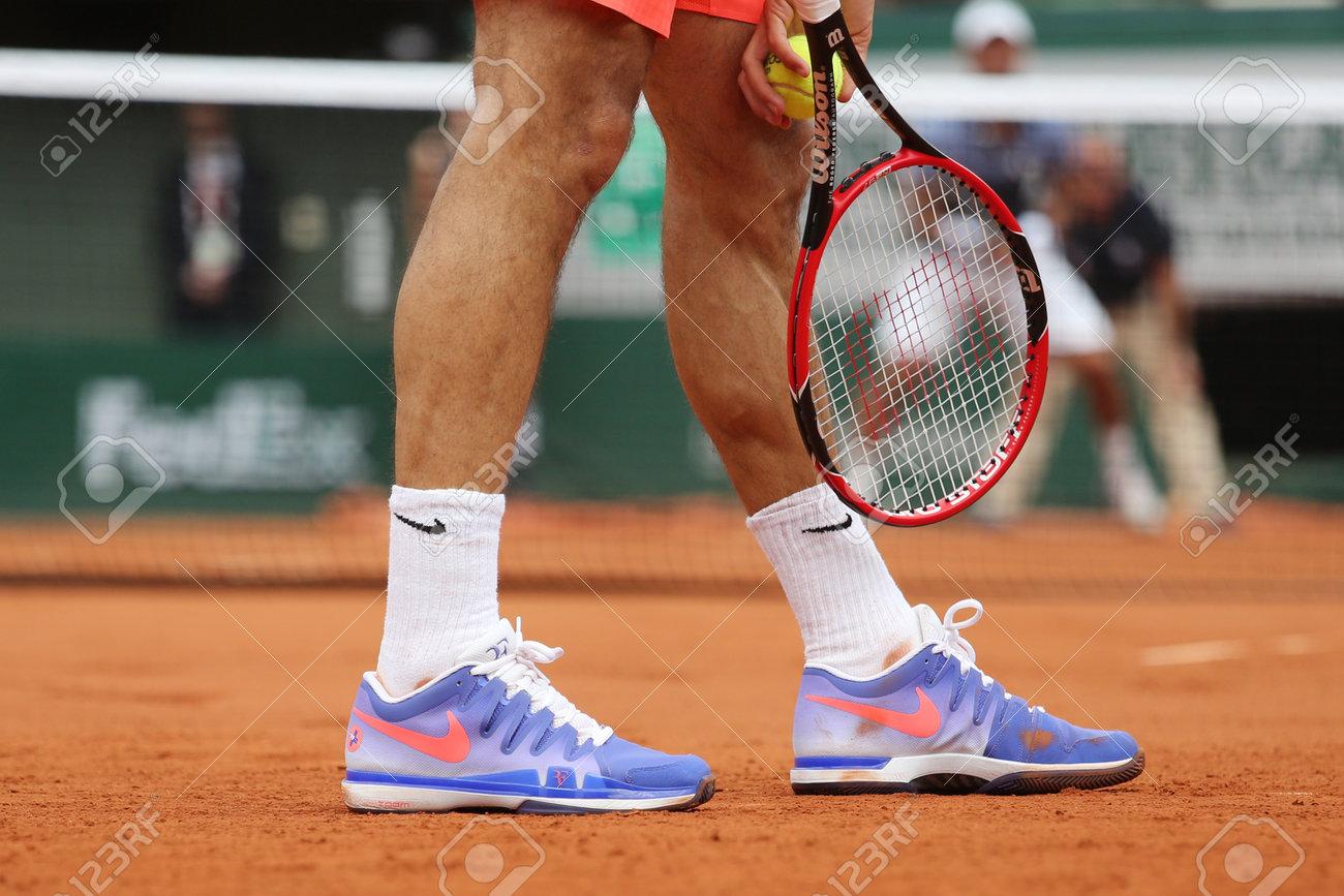 PARIS, FRANCE- MAY 24, 2015: Seventeen times Grand Slam champion..