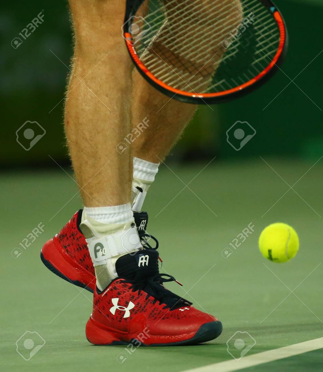 Personnalisé Chaussures Tennis Bretagne Août Olympique 14 Lors Rio De 2016Champion Porte JaneiroBrésil Murray Grande Andy Under Armour gY6ybf7v
