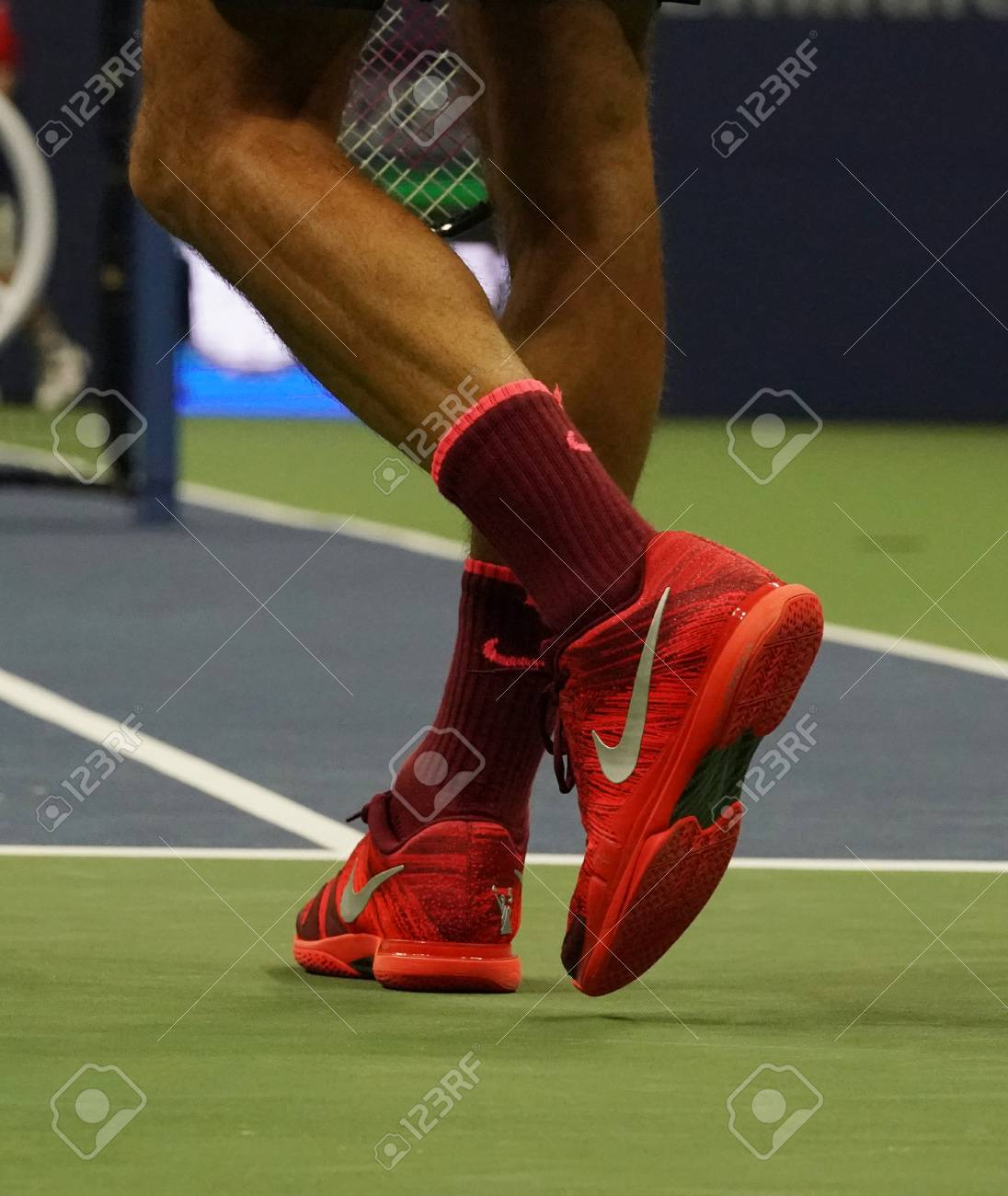 New York September 4 2017 Grand Slam Champion Roger Federer Stock Photo Picture And Royalty Free Image Image 87507425
