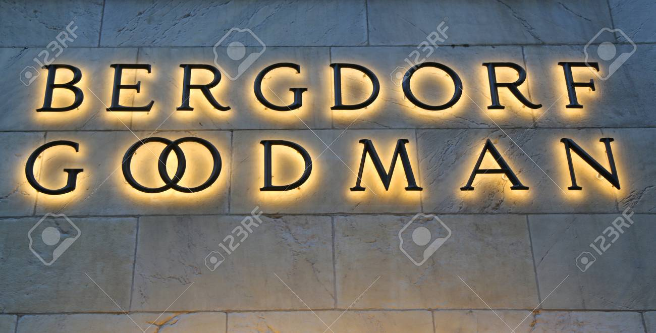 NEW YORK - MARCH 5, 2017: The Bergdorf Goodman department store