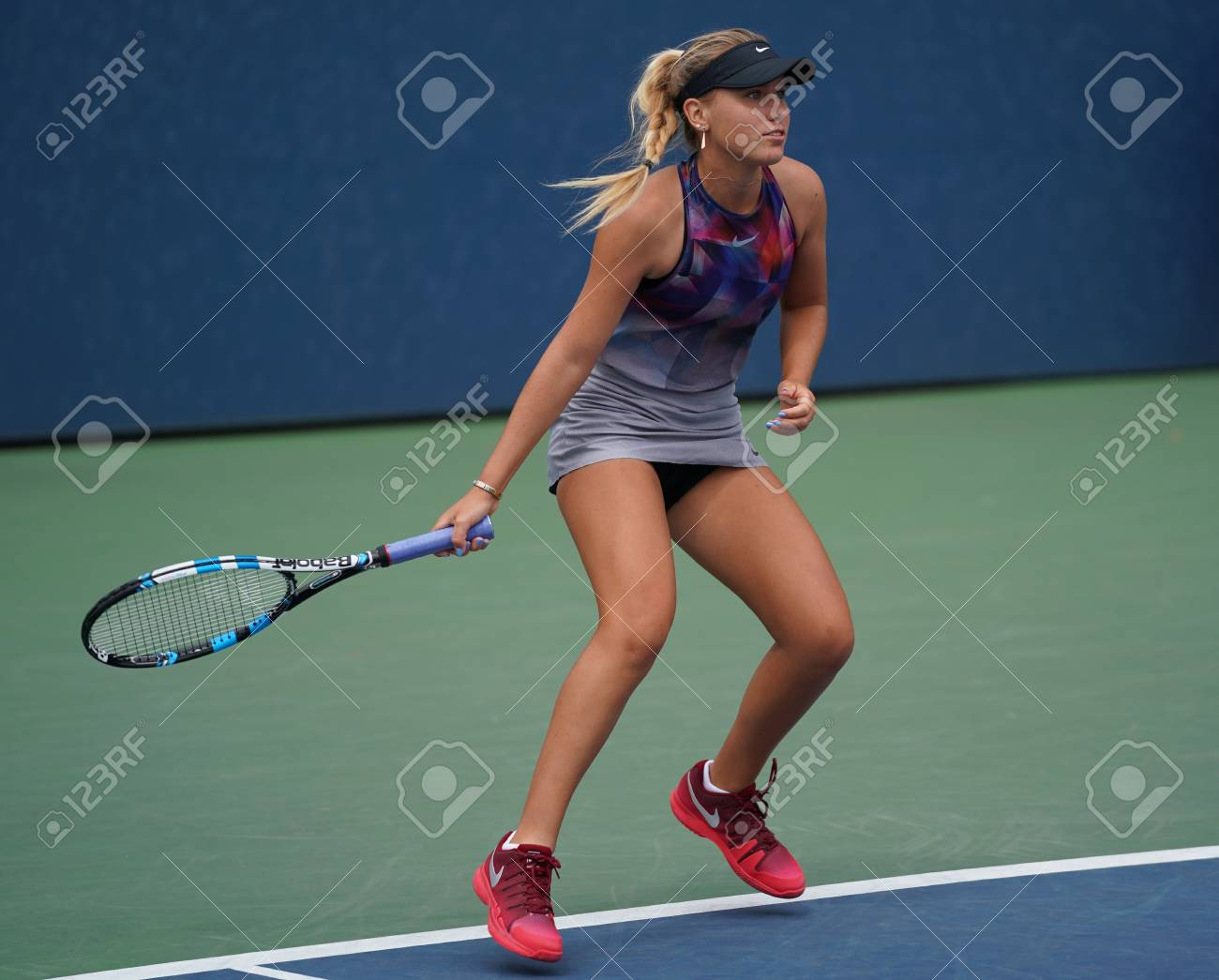 New York September 2 2017 Professional Tennis Player Sofia Stock Photo Picture And Royalty Free Image Image 93669437
