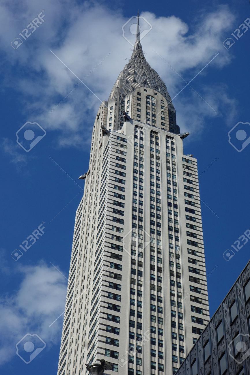 New York June 5 2018 The Chrysler Building In New York The