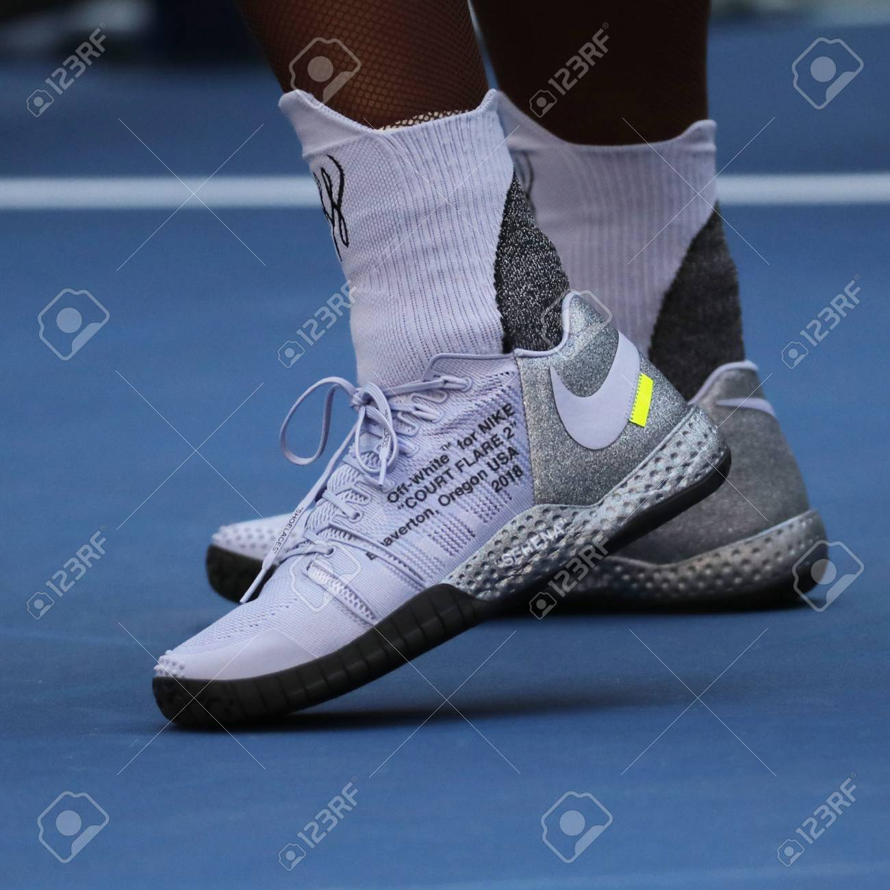 Proponer madre centavo  NEW YORK - SEPTEMBER 2, 2018: 23-time Grand Slam Champion Serena.. Stock  Photo, Picture And Royalty Free Image. Image 108216019.