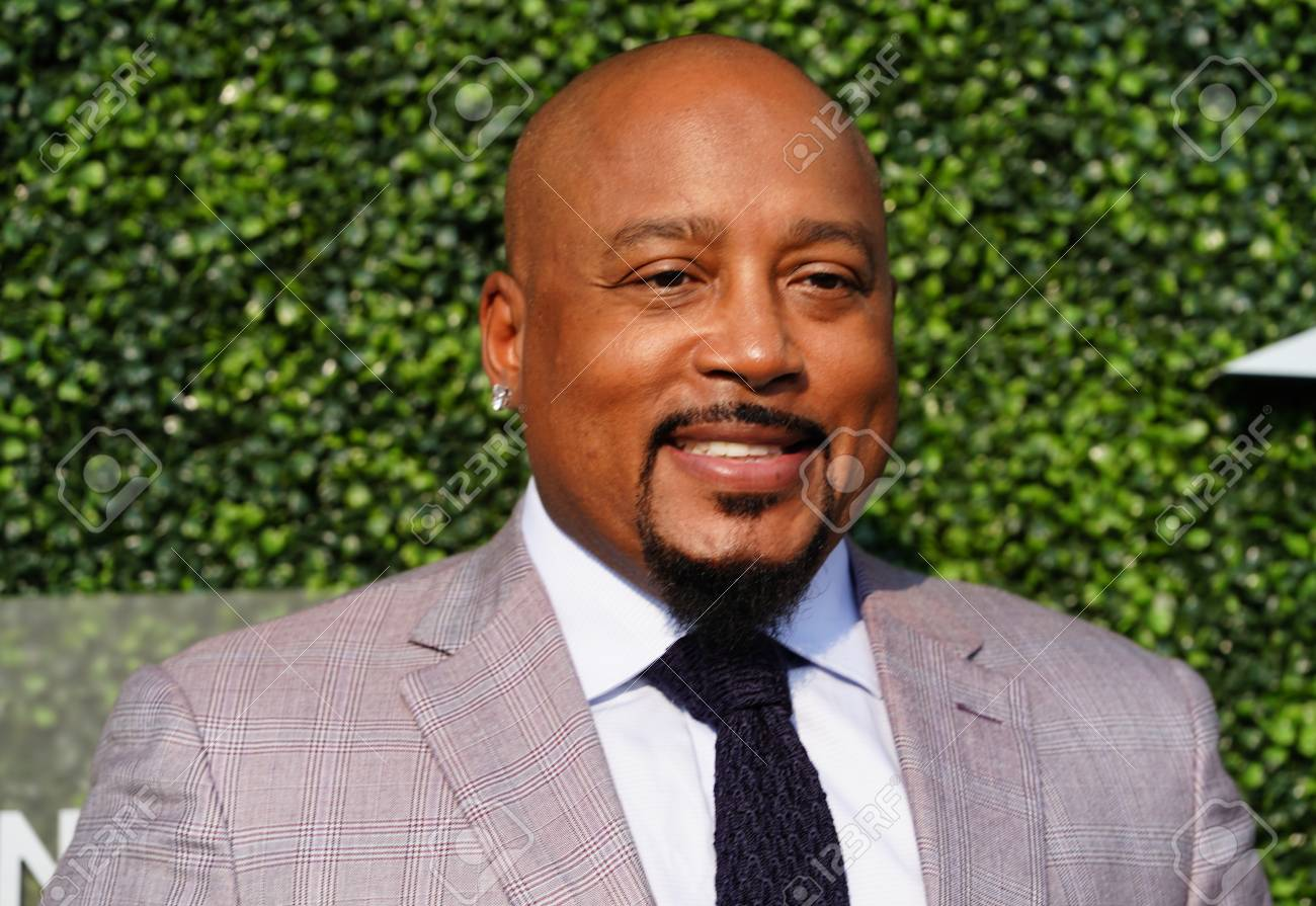"""679a9a51 NEW YORK - AUGUST 27, 2018: Daymond John, Business Entrepreneur and Co-star  of ABC's Hit show """"Shark Tank"""", at the red carpet before 2018 US Open  opening ..."""
