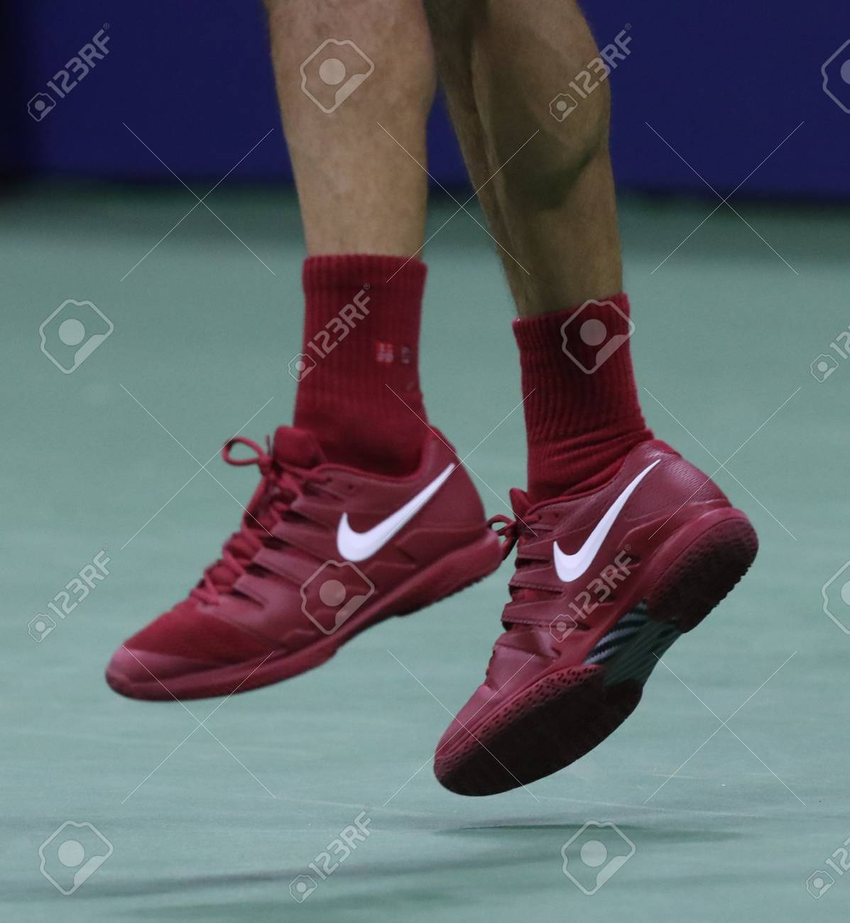 Sbaglio Enumerare presentare  NEW YORK - AUGUST 28, 2018: 20-time Grand Slam Champion Roger.. Stock  Photo, Picture And Royalty Free Image. Image 110937673.