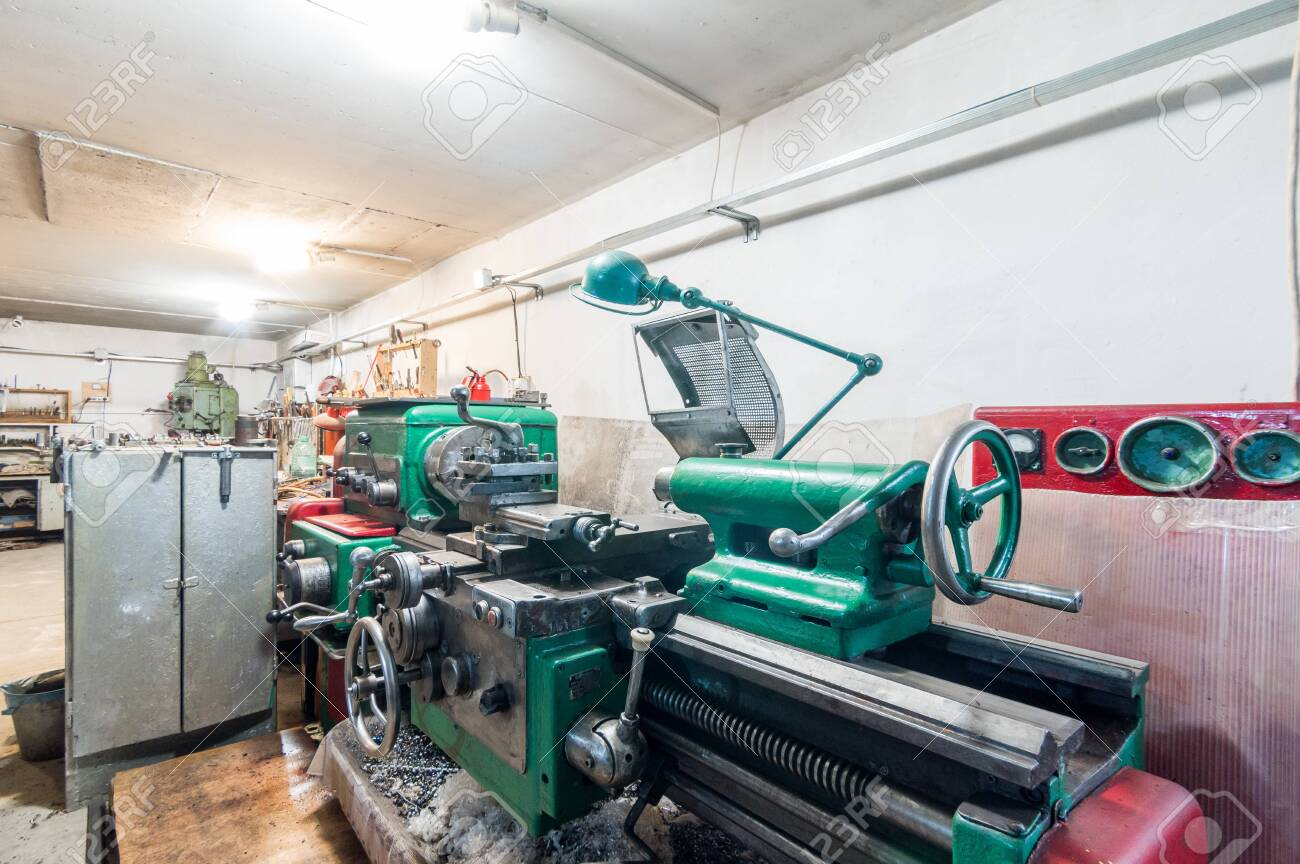 Russia Moscow July 06 2019 Interior Machines In Garage Workshop Stock Photo Picture And Royalty Free Image Image 138481542