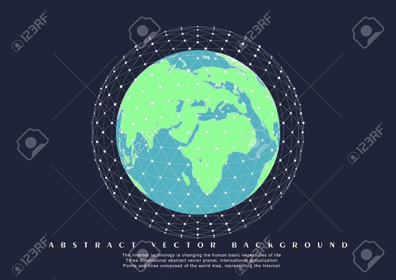 World map globe internationalization globalization polygon world map globe internationalization globalization polygon mesh stock vector 63625993 gumiabroncs Choice Image