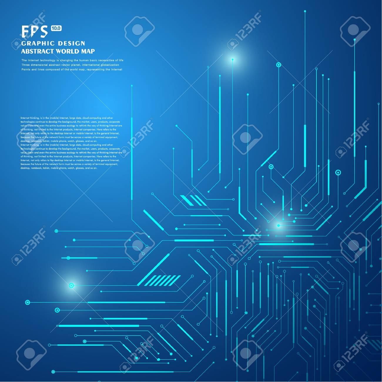Technological Vector Background With A Circuit Board Texture Royalty Textures Pinterest Stock 81992482