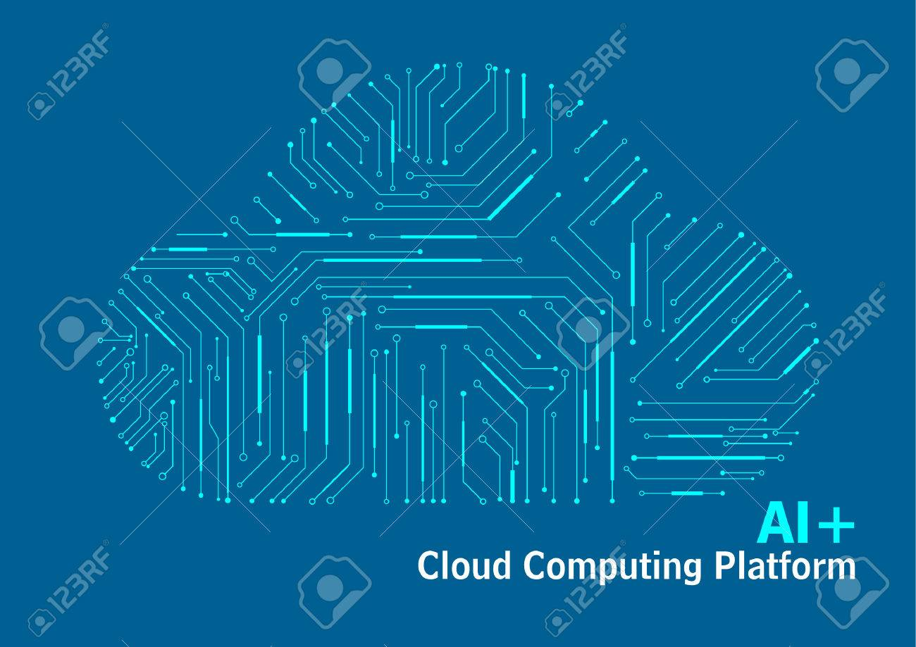 Cloud Computing Platform, Internet Data, Technology Circuit Diagram ...