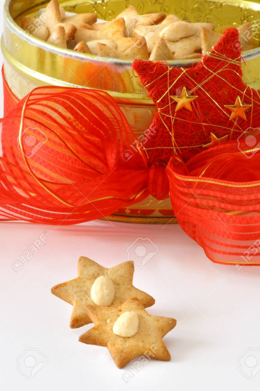 Christmas biscuit stars Stock Photo - 12457135
