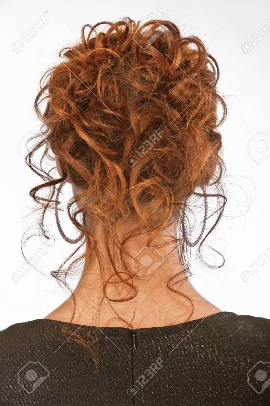 Beautiful hairdress of young nice girl. Stock Photo - 6819973