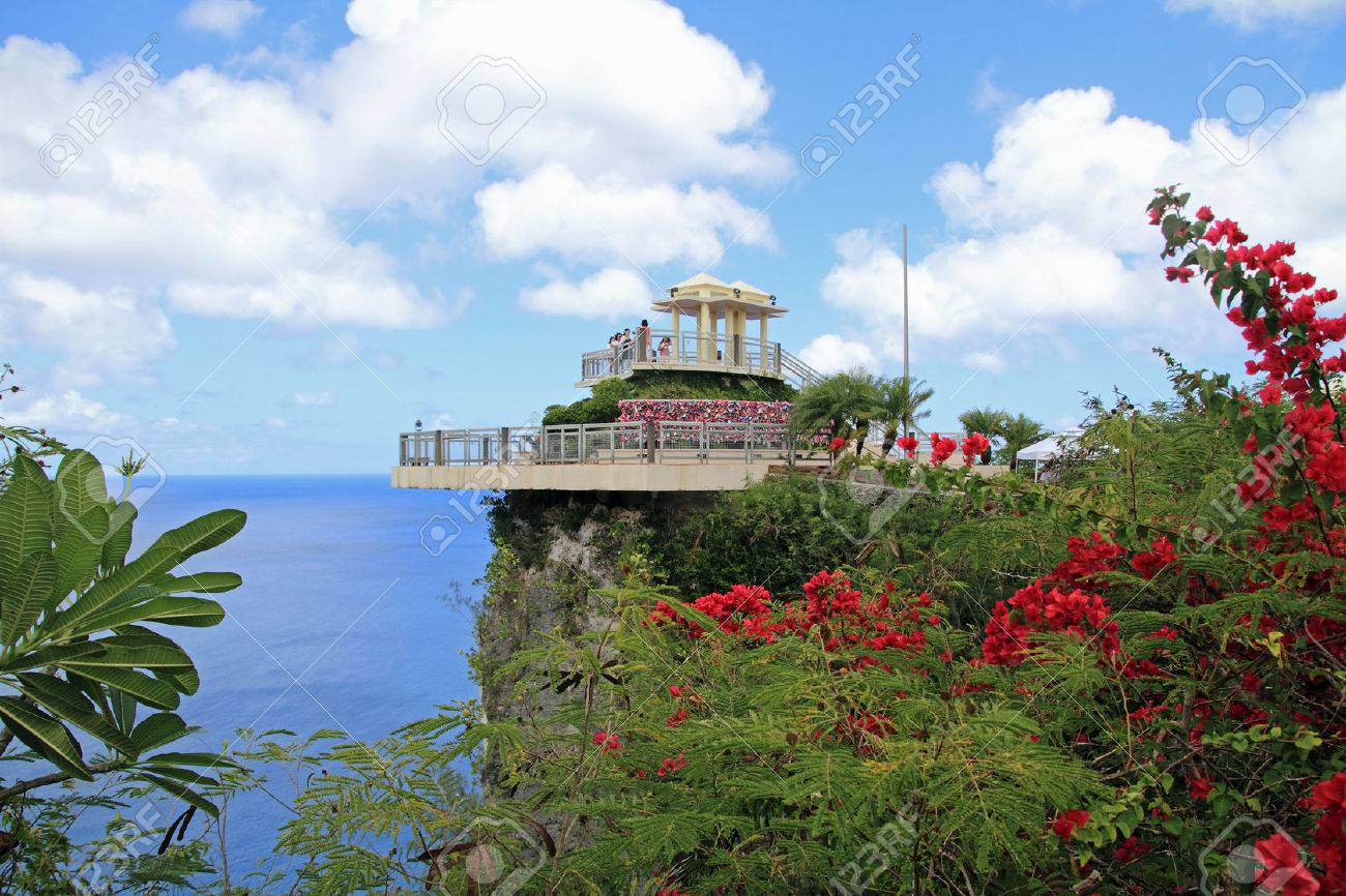two lovers point in Guam - 32216138