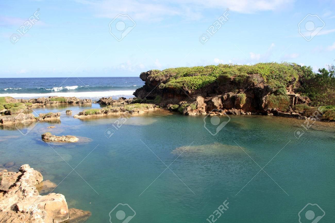 Inarajan natural pool in Guam - 32720381