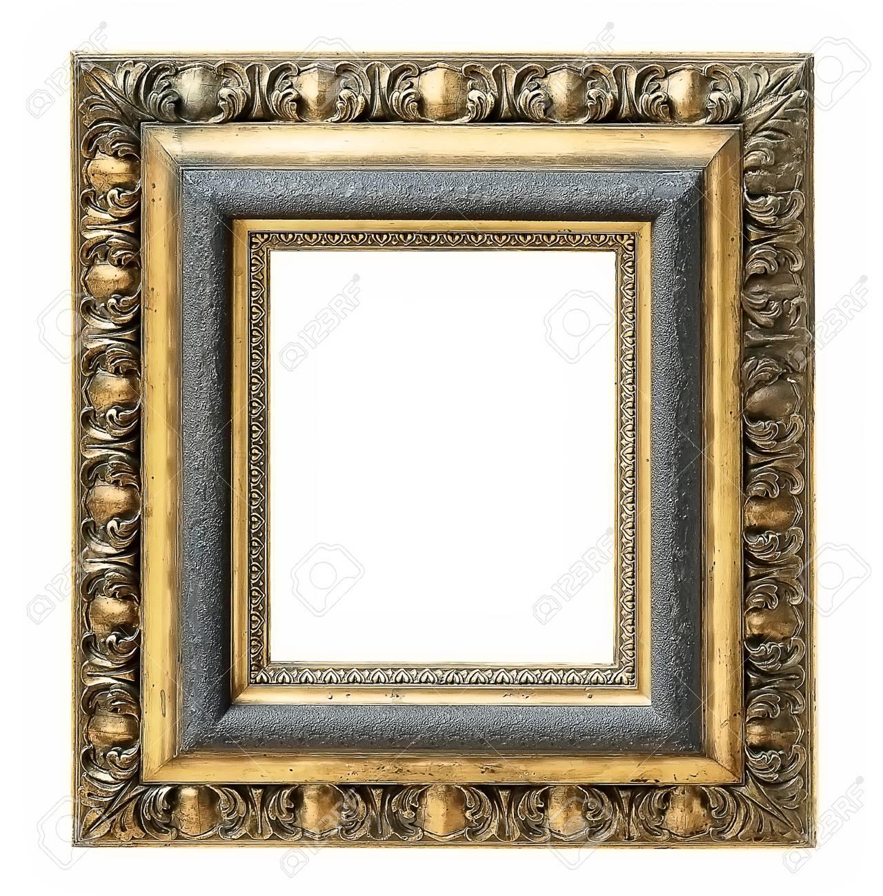 Goldrahmen Für Gemälde, Spiegel Oder Fotos Lizenzfreie Fotos, Bilder ...