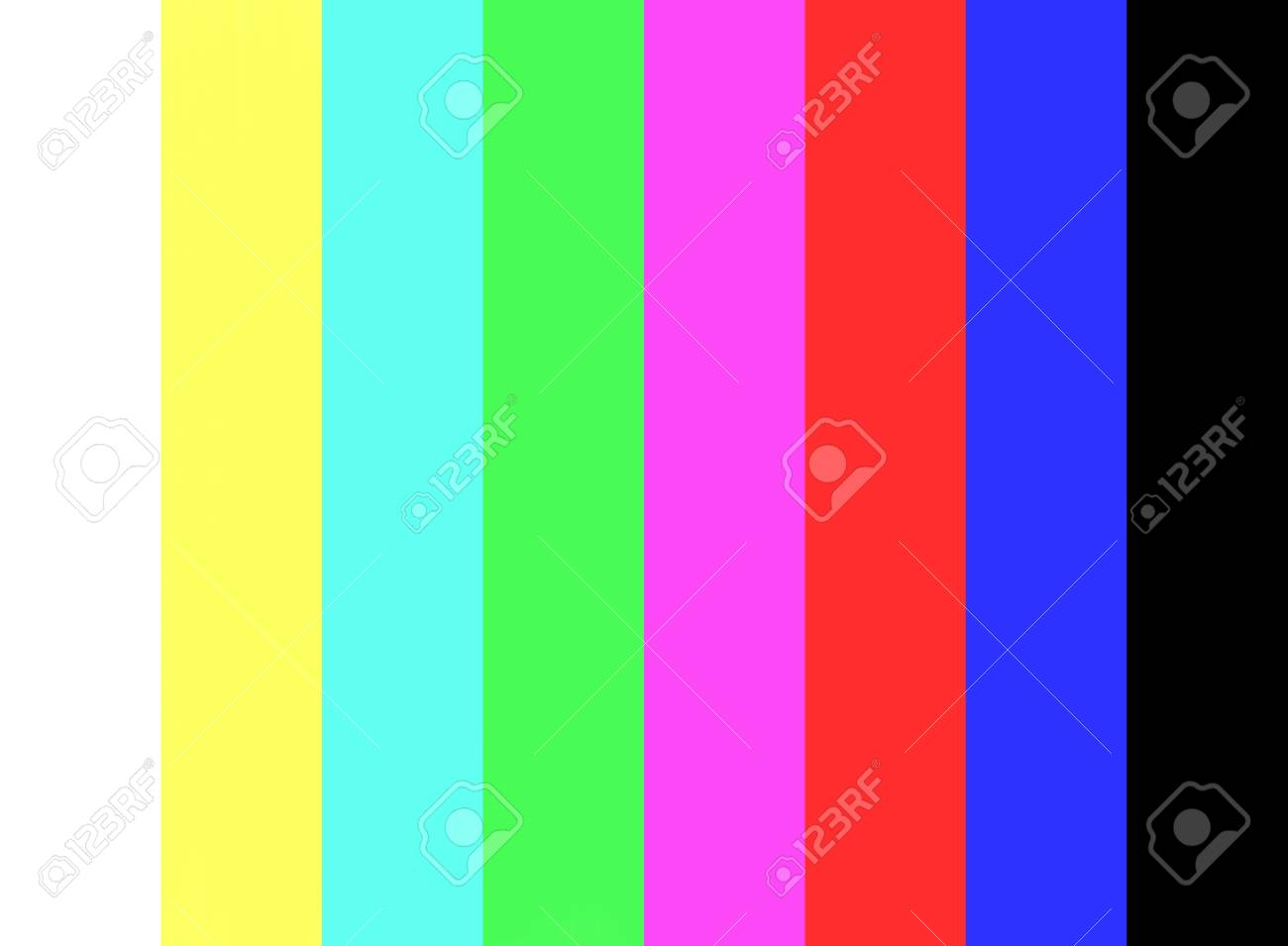 No Signal And Color Bar Test On Television Screen Background Stock Photo Picture And Royalty Free Image Image 113395839