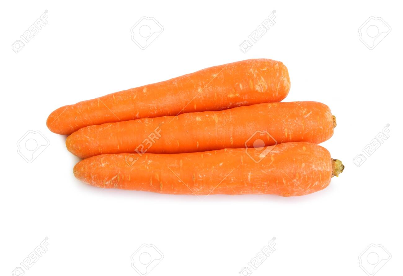 Carrot isolated on the white background - 131135315
