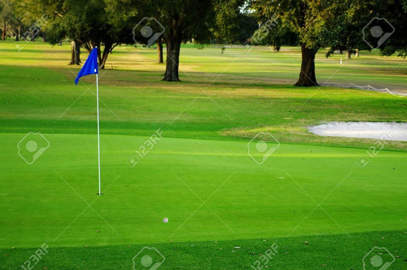Golf course Stock Photo - 628221