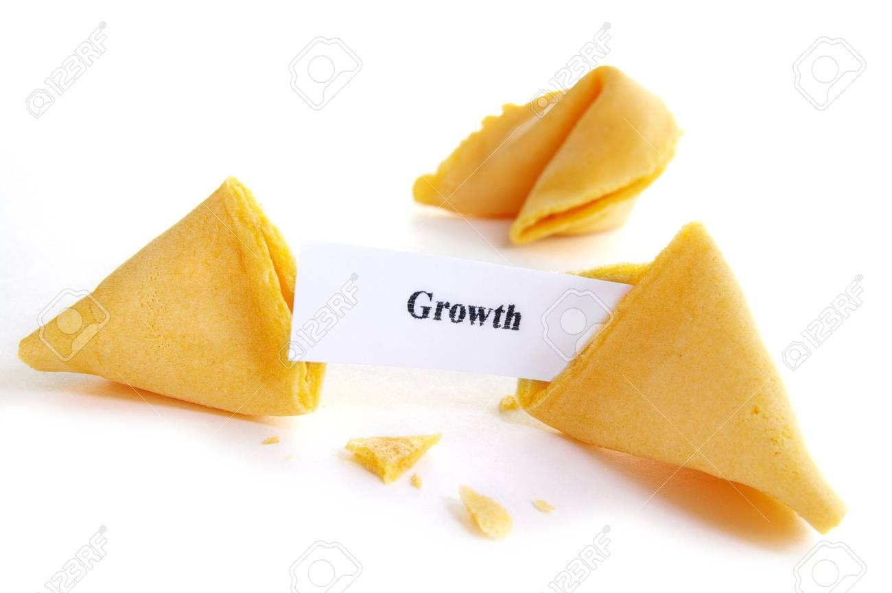 Growth fortune cookie Stock Photo - 652277