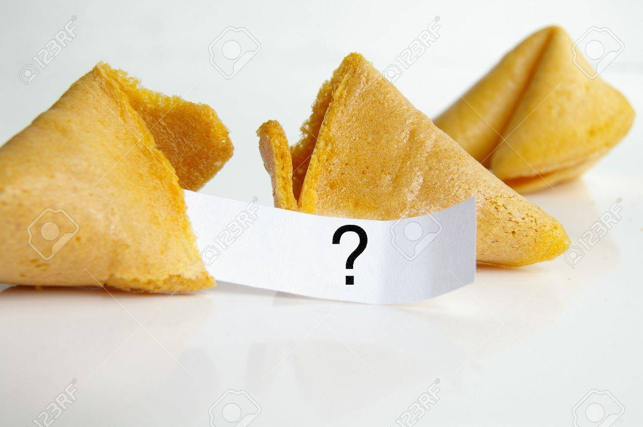 Question fortune cookie Stock Photo - 651942