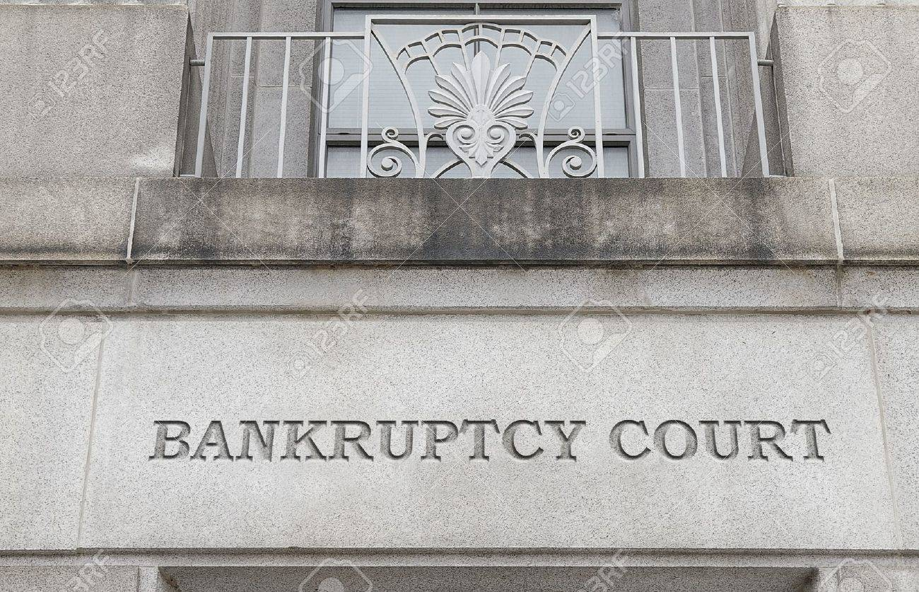Exterior of a Bankruptcy Court building - 16434973