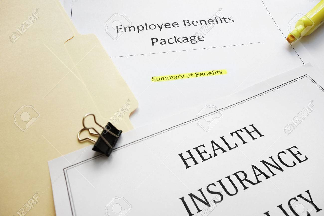 Employee Benefits package and health insurance document - 31738817