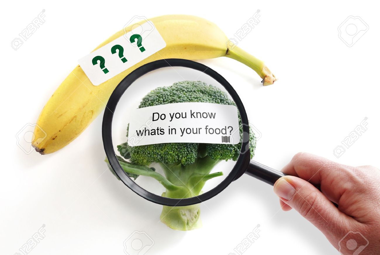 diet questions images stock pictures royalty diet diet questions whats in your food label on broccoli magnifying glass food
