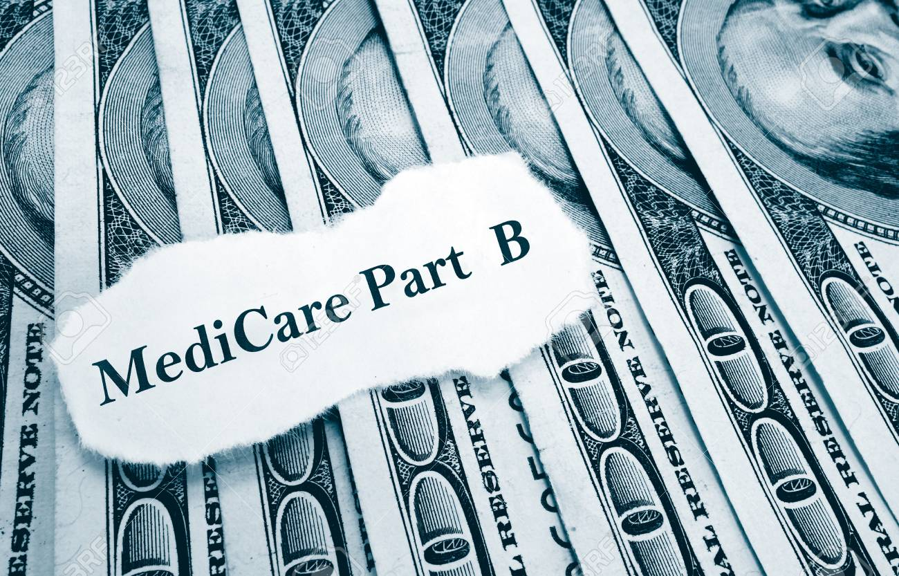 Medicare Part B headline on money