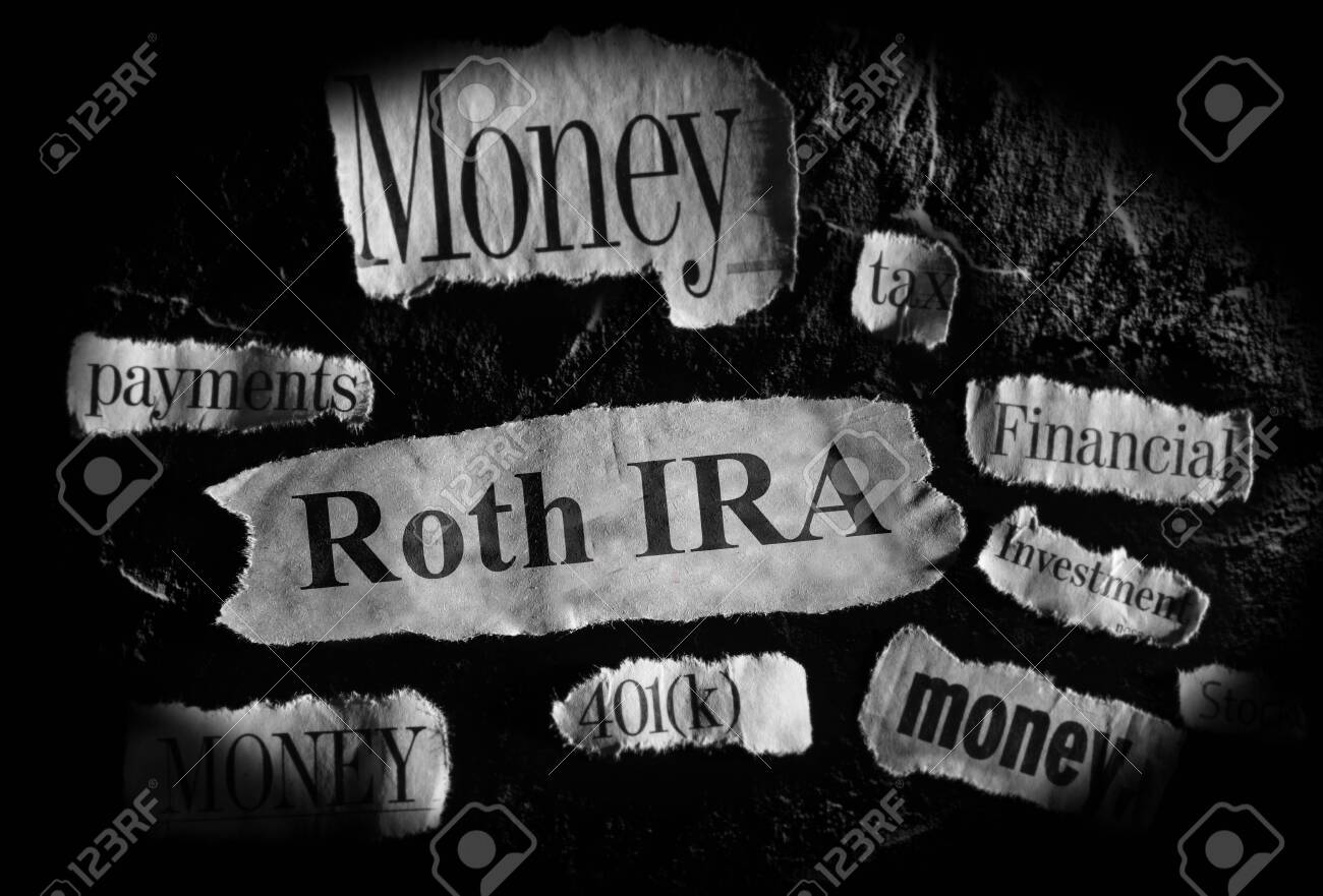 Roth IRA news headlins with other retirement related news items - 144379329