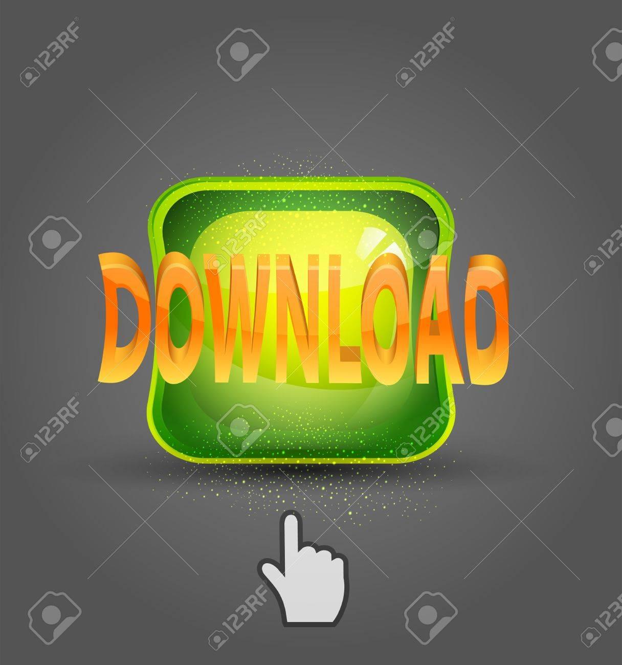 vector icon download and cursor Stock Vector - 20276533
