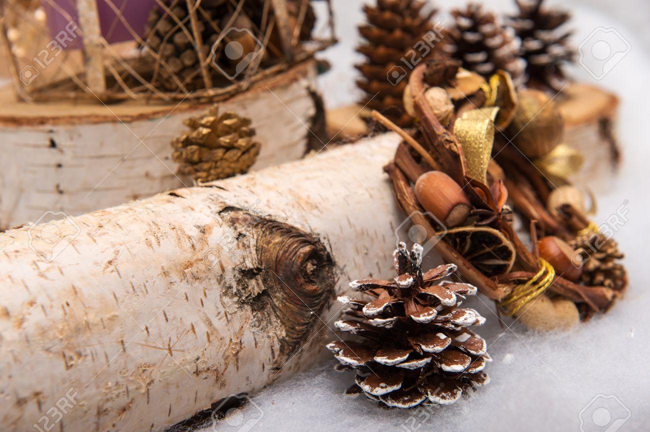 Jouets D Arbre De Noel Et La Decoration Comme Branche De Sapin Et De