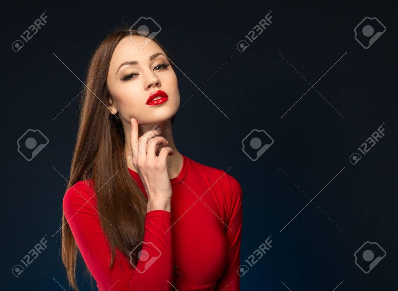 Mujer sexualmente atractiva