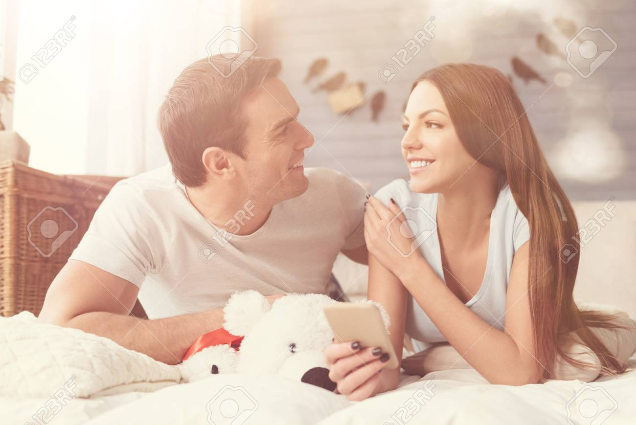 Harmonic Relationships Cute Young Perfect Couple Spending A Stock Photo Picture And Royalty Free Image Image 92247835