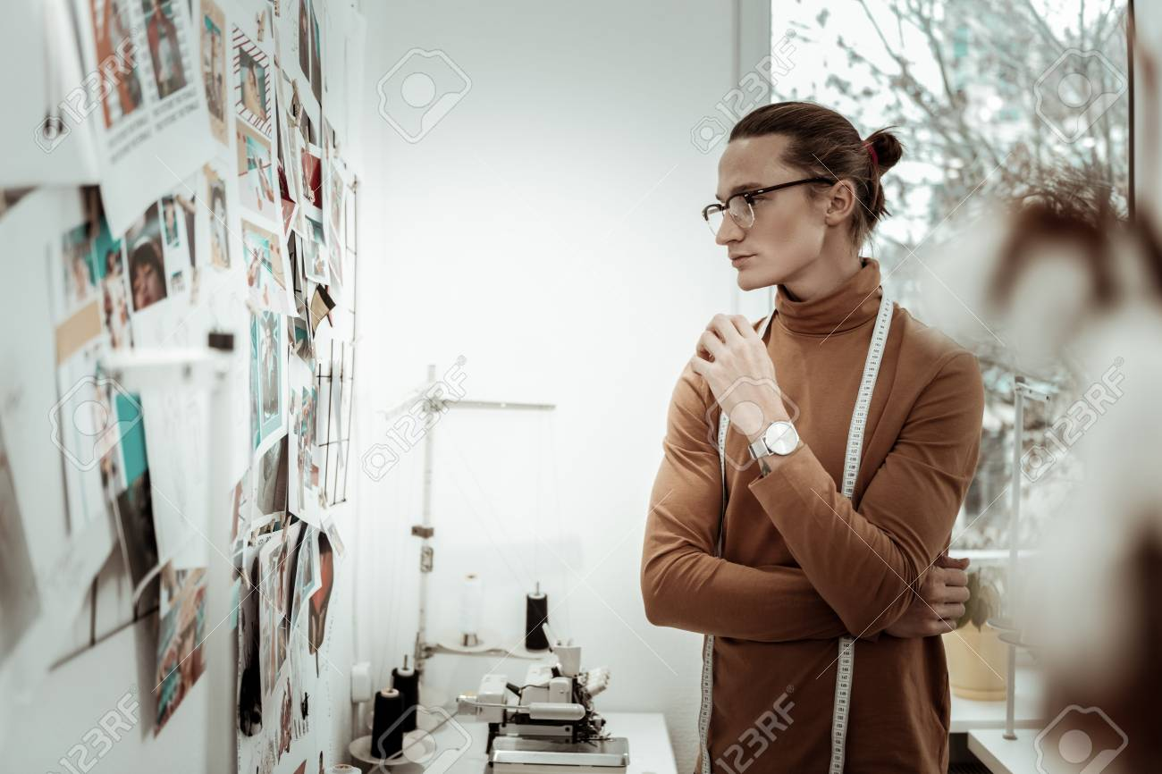 New Look Fair Haired Fashion Designer Form Generation Y Looking Stock Photo Picture And Royalty Free Image Image 114148440