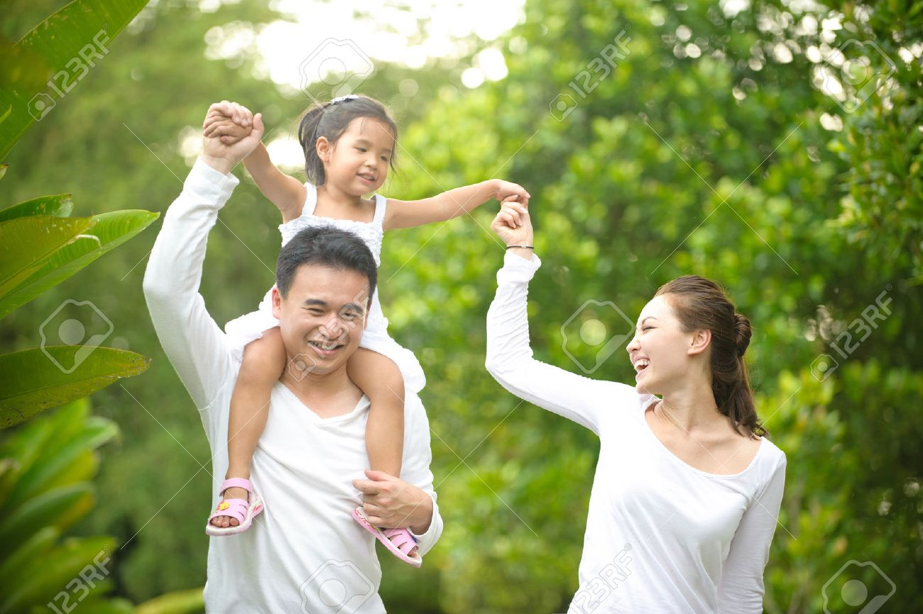 Family Picture Family Activities Stock Photos Royalty Free Family Activities