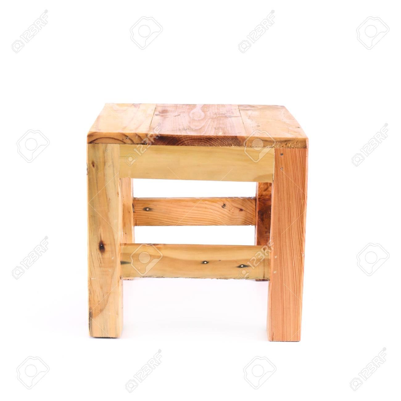Bemerkenswert Stuhl Holz Ideen Von Isoliert Auf Weißem Hintergrund Standard-bild - 14848398